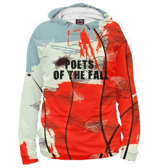 Худи женское Poets of the fall (1601)