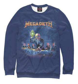 Одежда с принтом Megadeth