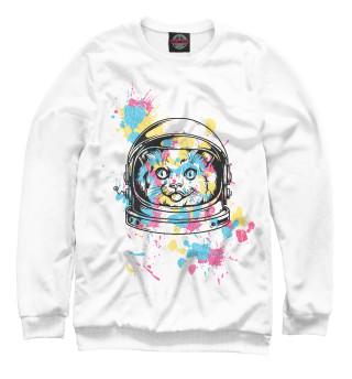Одежда с принтом Кот космонавт (128005)