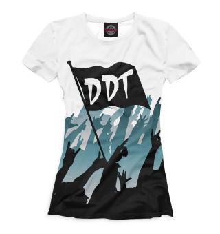 Футболка женская DDT (2498)