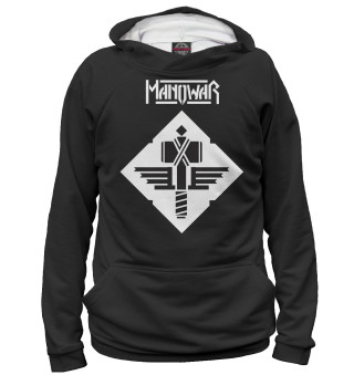 Худи мужское Manowar (5558)