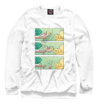 Одежда с принтом Комикс про попугая