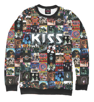 Одежда с принтом Kiss (310862)