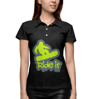 Поло женское Ride It