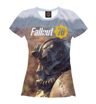 Футболка женская Fallout 76