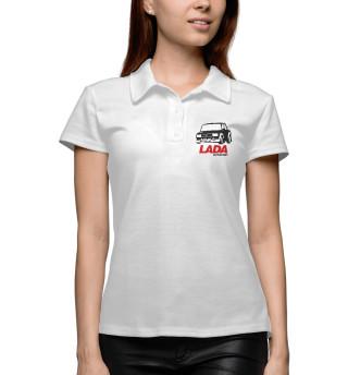 Поло женское Lada Autosport