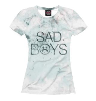Футболка женская Sad Boys