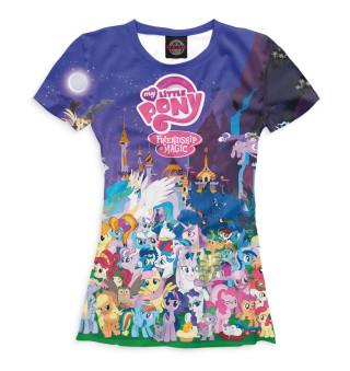 Футболка женская My Little Pony (7787)