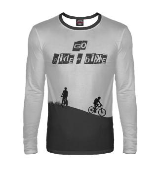 Лонгслив  мужской Велосипед