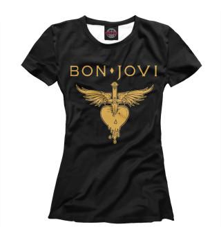 Футболка женская Bon Jovi