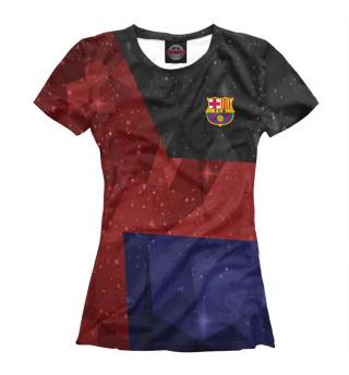 Футболка женская Barcelona
