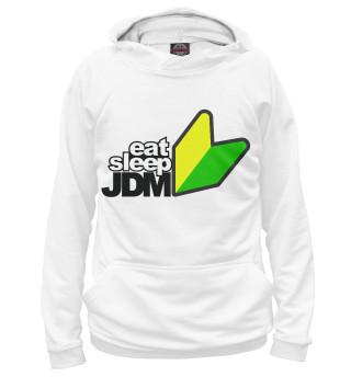 Худи женское EAT SLEEP JDM (9757)