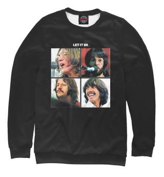 Одежда с принтом The Beatles Let it Be