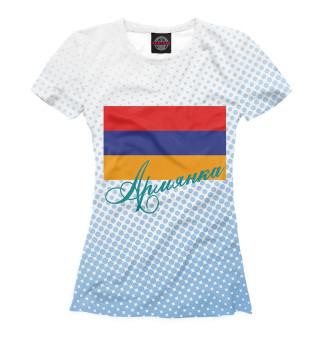 Футболка женская Армянка