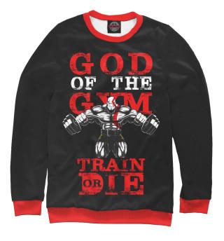 Одежда с принтом God of the Gym
