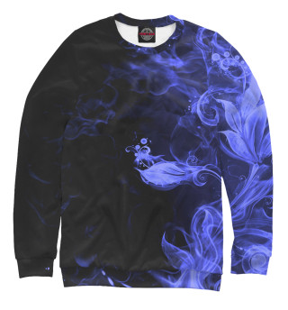 Одежда с принтом Дым