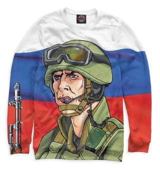 Одежда с принтом Солдат (584174)