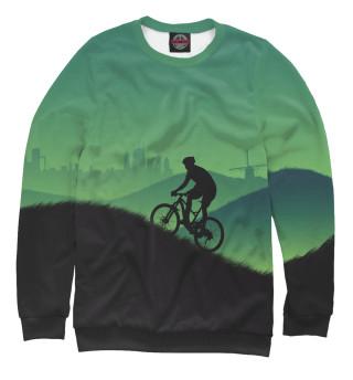 Одежда с принтом Велосипедист MTB