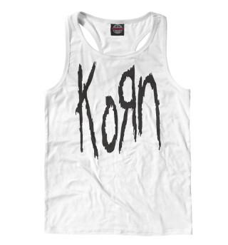 Майка борцовка мужская KoRn Logo