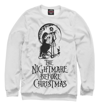 Одежда с принтом The nightmare before christmas