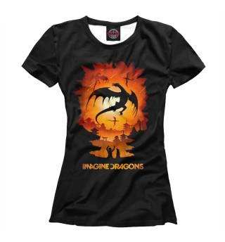 Футболка женская Imagine Dragons (4129)