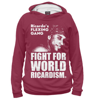 Худи женское Fight for Ricardo