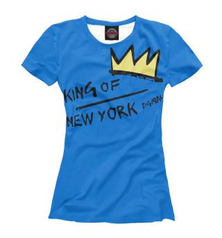 Футболка женская King of New York