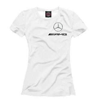 Футболка женская Mercedes AMG (7658)