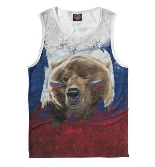 Майка мужская Русский Медведь