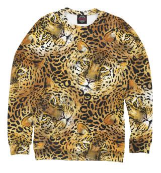 Одежда с принтом Леопарды