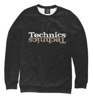 Одежда с принтом Technics