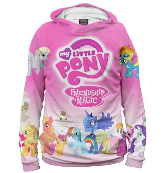 Худи женское My Little Pony (7835)