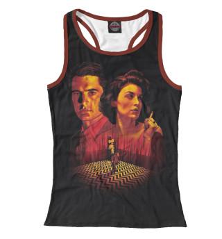 Майка борцовка женская Twin Peaks (8259)