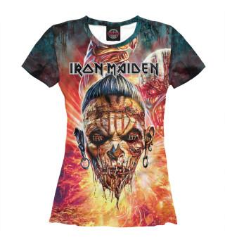 Футболка женская Iron Maiden