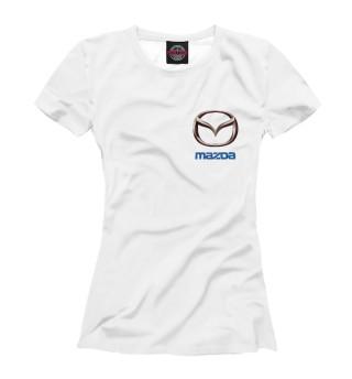 Футболка женская Mazda (3884)
