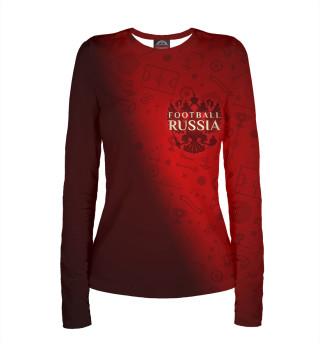 Лонгслив  женский Football Russia