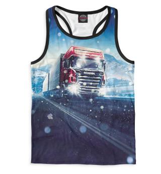 Майка борцовка мужская Scania (8236)