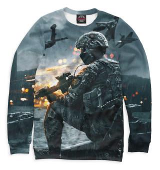 Одежда с принтом Battlefield 4 (575535)