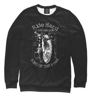 Одежда с принтом Ride Hard
