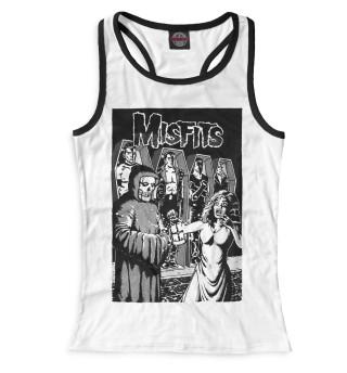 Майка борцовка женская The Misfits (626)