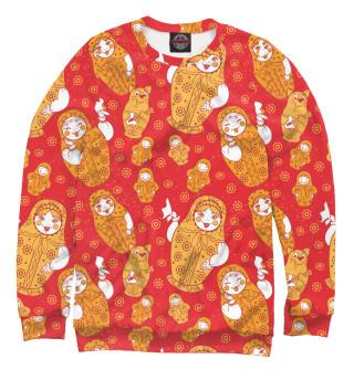 Одежда с принтом Русские матрешки (436957)