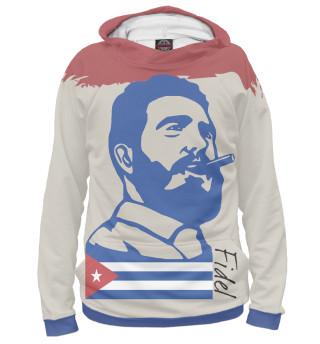 Худи мужское Фидель Кастро - Куба