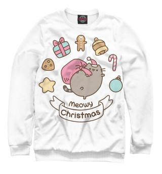 Одежда с принтом Pusheen Christmas