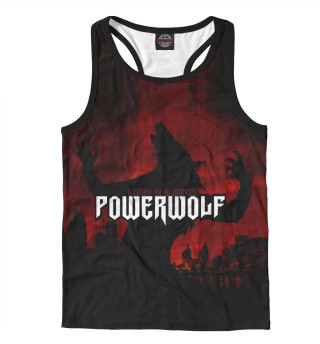 Майка борцовка мужская Powerwolf (6662)