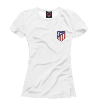 Футболка женская Atletico Madrid (124)