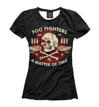 Футболка женская Foo Fighters (4860)