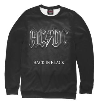 Одежда с принтом AC/DC Back in Black