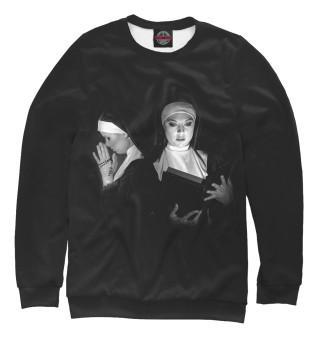 Одежда с принтом Монашки