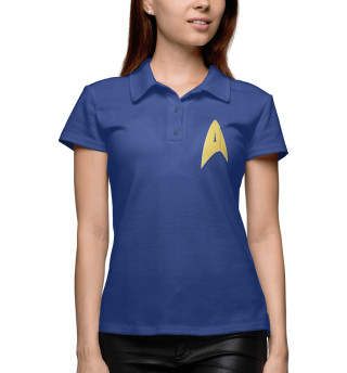 Поло женское Звёздный путь: Дискавери (4752)