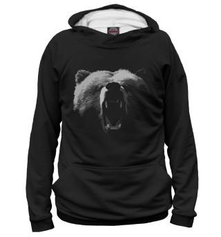 Худи женское медведь (3216)